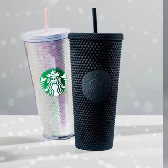 Starbucks Black Matte Studded Tumbler